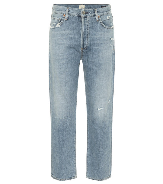 Citizens of Humanity McKenzie mid-rise straight jeans in blue