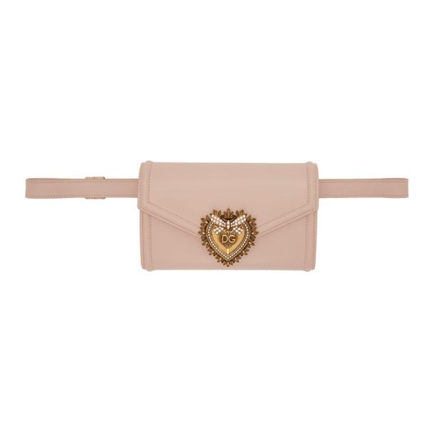 Dolce and Gabbana Dolce & Gabbana Pink Devotion Envelope Bag
