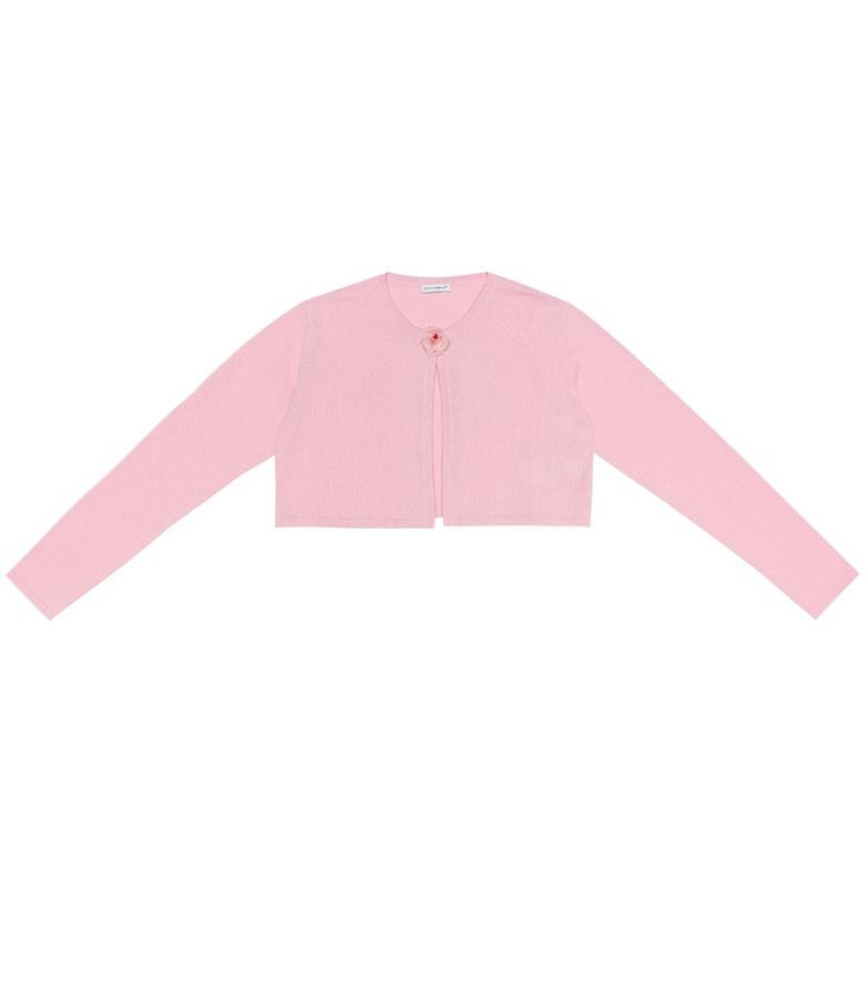 Dolce & Gabbana Kids Cashmere cardigan in pink