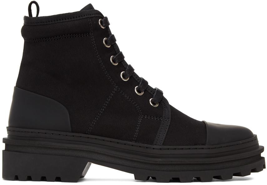 A.P.C. A.P.C. Black Faustine Boots