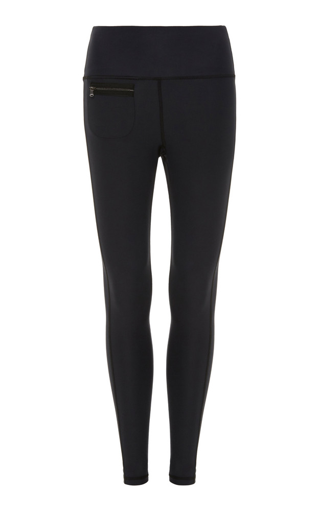 Erin Snow Peri Stretch High-Waisted Leggings Size: S in black