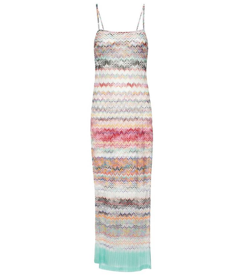 Missoni Mare Zig-zag knit maxi dress