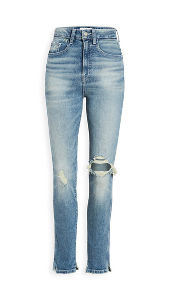 Jordache Vintage Crop Jeans in blue