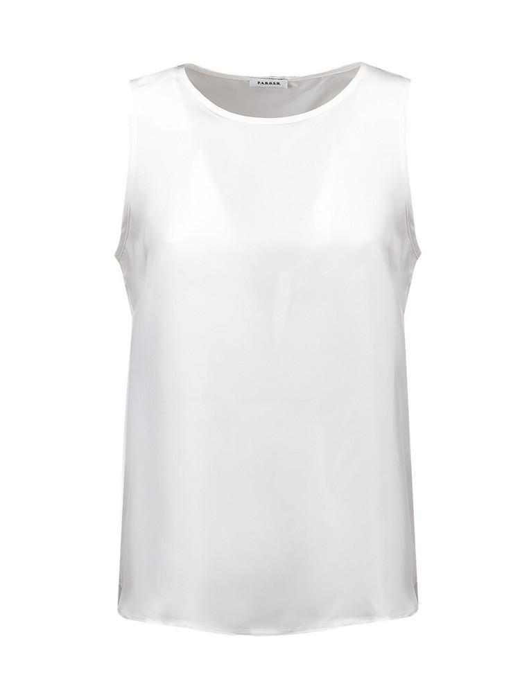 Parosh Top in white