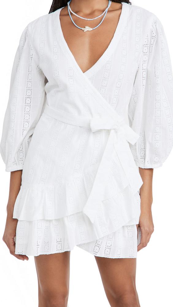 Melissa Odabash Aliyah Dress in white