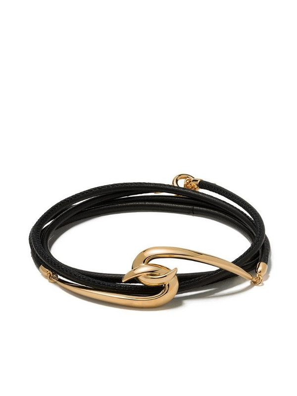 Shaun Leane Hook wrap bracelet in gold / yellow