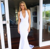 dress,formal dress,white dress,formal,white prom dress,gown,prom dress