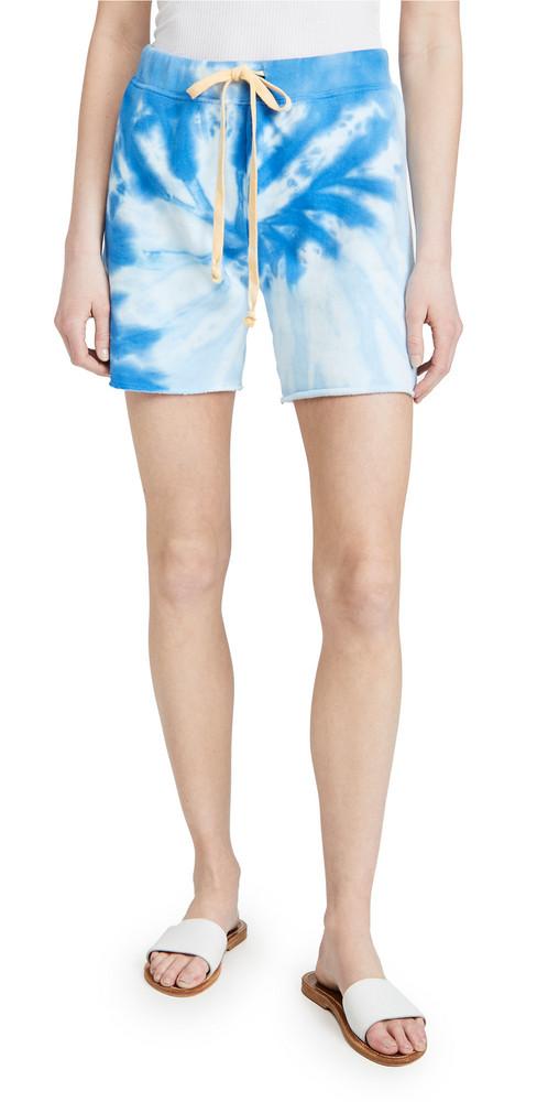 Warm Fun Skater Shorts in blue