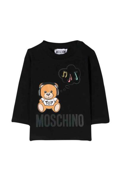 Moschino Printed T-shirt in nero