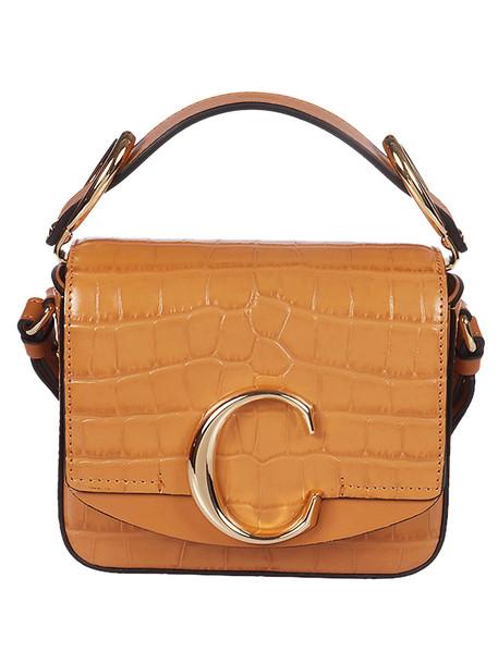 Chloé Chloé C Mini Shoulder Bag in brown