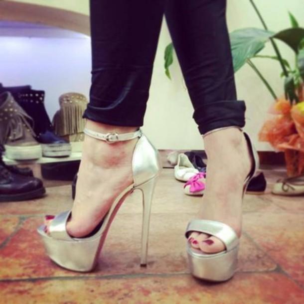 shoes sandal heels high heels