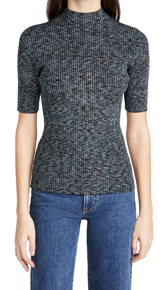 Theory Leenda Sweater in black / multi