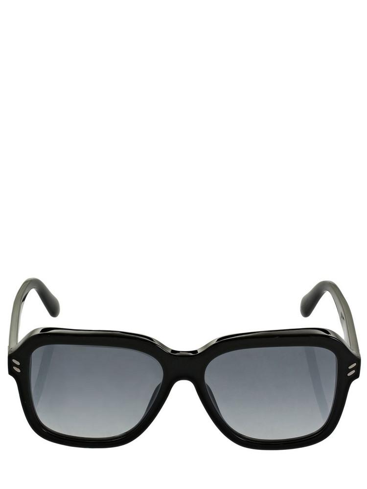 STELLA MCCARTNEY Squared Acetate Sunglasses in black