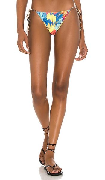 Melissa Simone Linda String Bikini Bottom in multi
