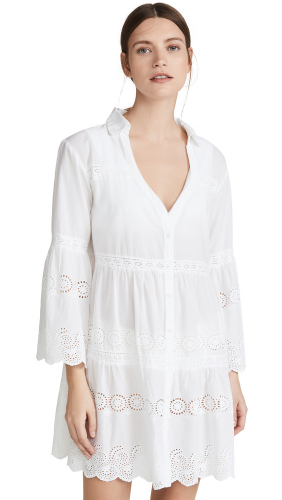 Melissa Odabash Becky Cover Up in white