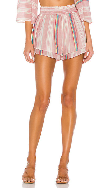 THE JETSET DIARIES Kaia Shorts in Red