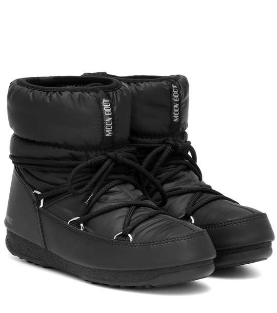 Moon Boot Low Nylon WP 2 snow boots in black
