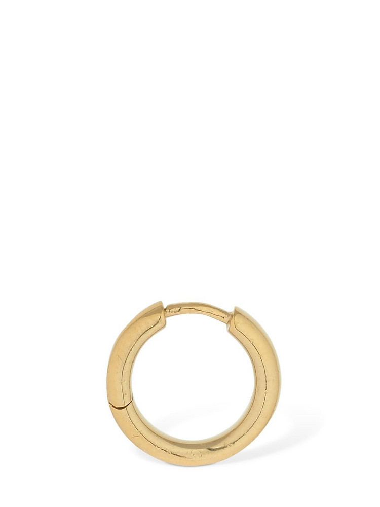 MARIA BLACK 11mm Polo Mono Huggie Hoop Earring in gold