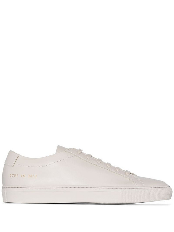 Common Projects Achilles lace-up sneakers in neutrals