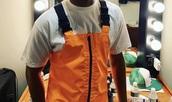 jumpsuit,orange,reflective,overalls,brockhampton