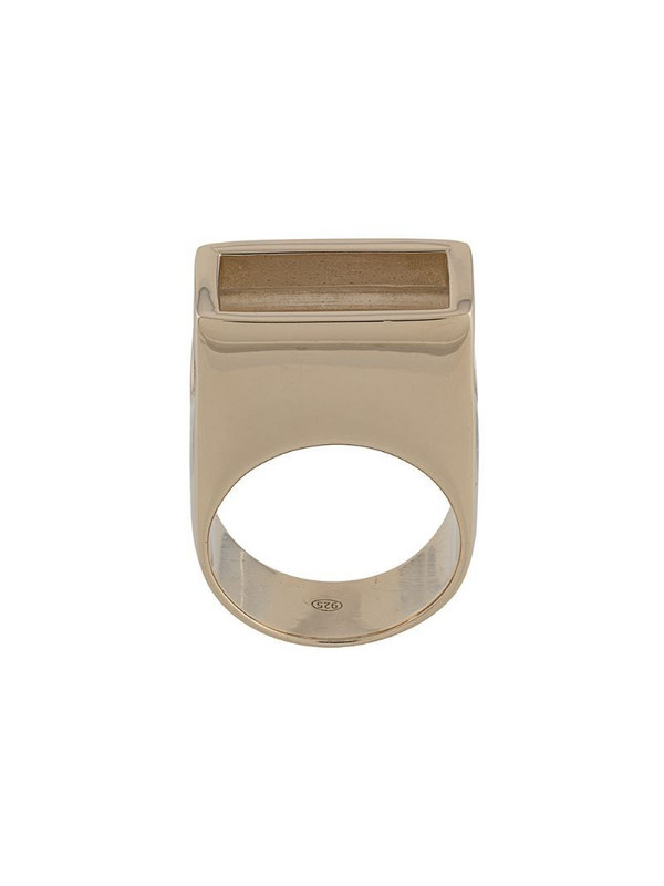 d'heygere Canister ring in gold