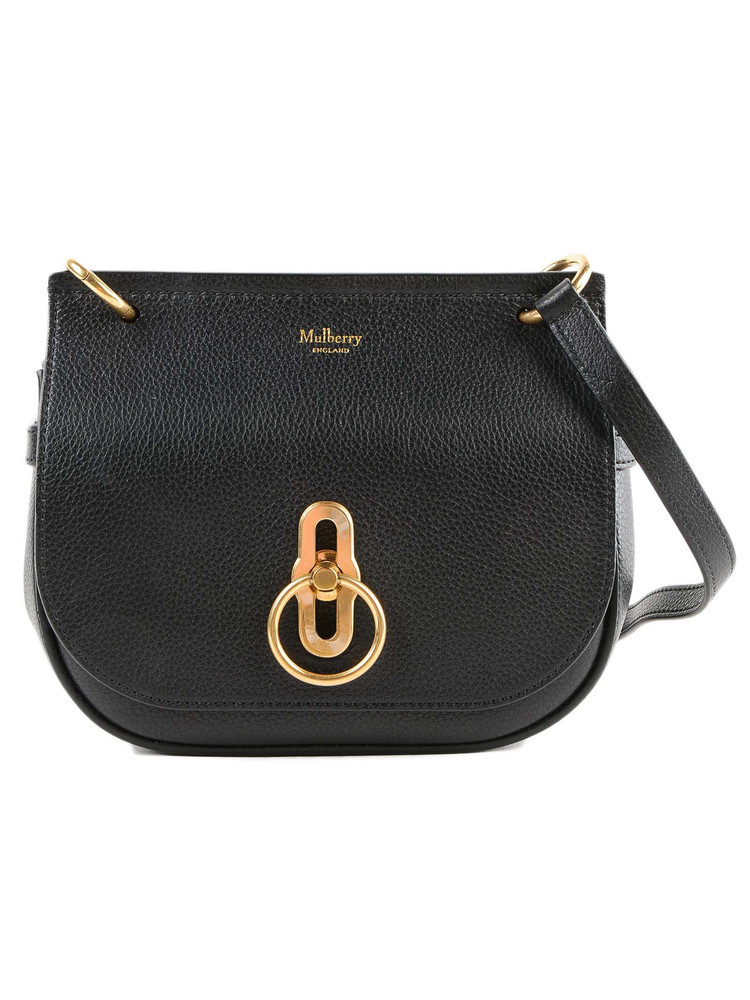 Mulberry Small Amberley Shoulder Bag in black