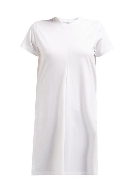 Jw Anderson - Waterfall Cotton Jersey T Shirt - Womens - White
