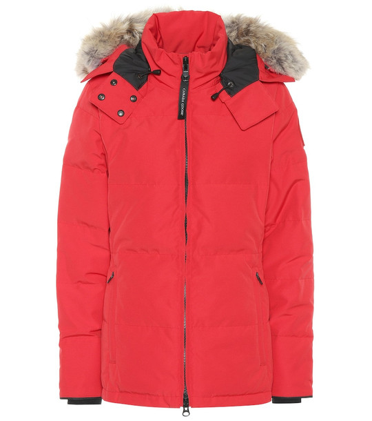 Canada Goose Chelsea down parka in red