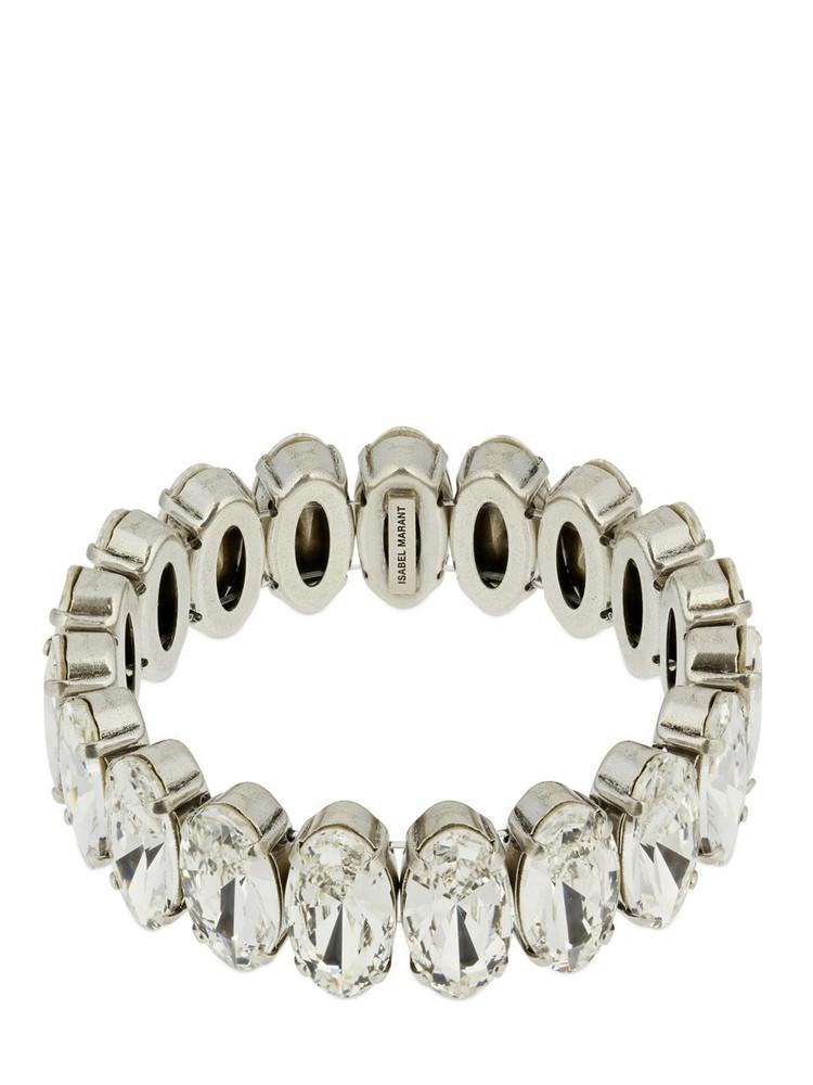ISABEL MARANT Ho La La Crystal Bracelet in silver