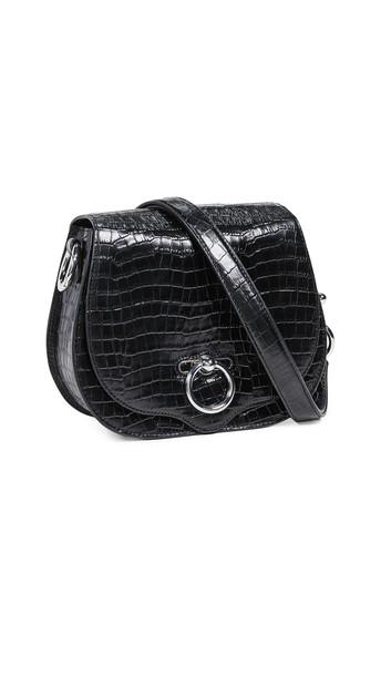 Rebecca Minkoff Small Jean Saddle Bag in black