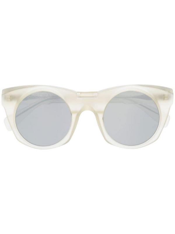 Kuboraum cat eye sunglasses in neutrals