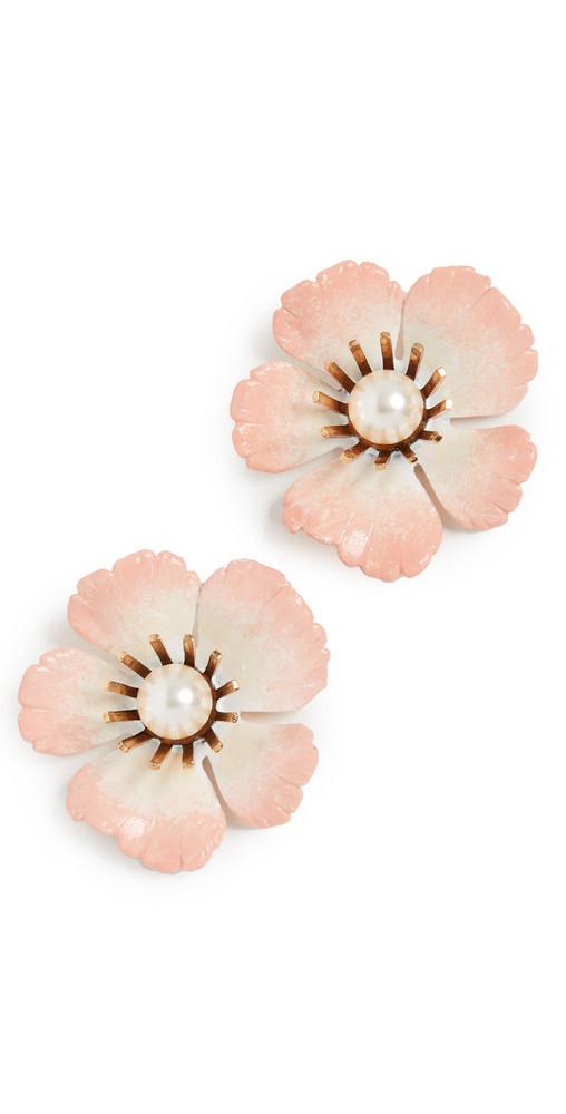 Jennifer Behr Finley Earrings in blush