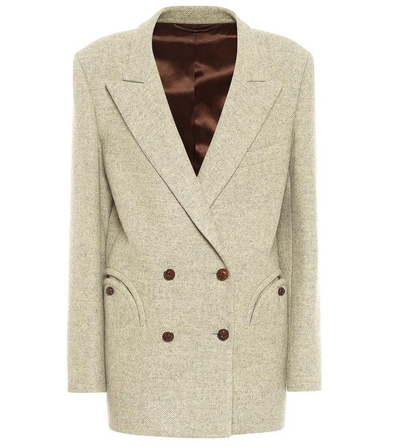 Blazé Milano Solandge Everynight wool blazer in beige