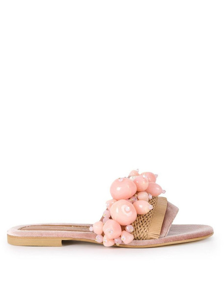 Elina Linardaki Sel Rose sandals in pink