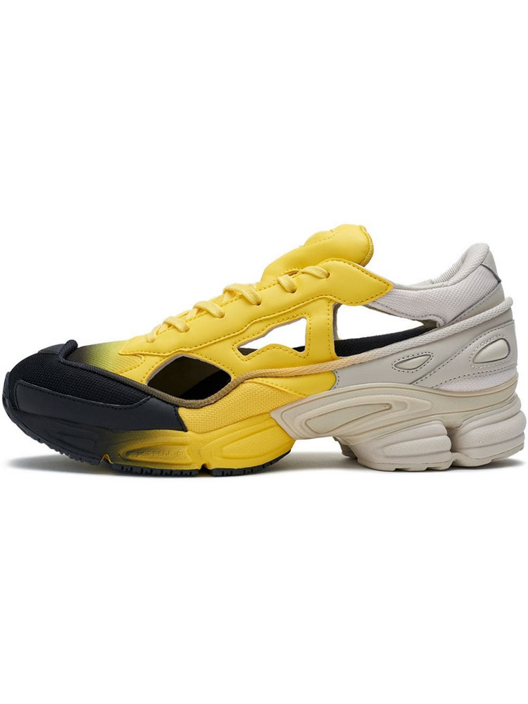Adidas By Raf Simons Ozweego Sock Pack Sneakers in yellow