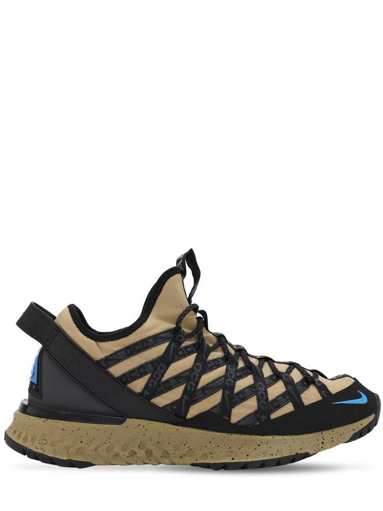NIKE ACG Acg React Terra Gobe Sneakers in black / beige
