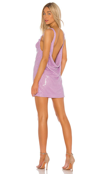 Misha Collection Maxie Dress in Purple in lilac
