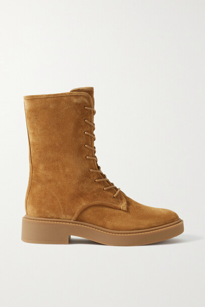 Vince - Kady Suede Ankle Boots - Brown