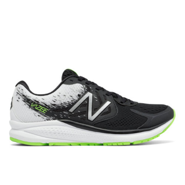 New Balance Vazee Prism v2 Women's Speed Shoes - Black/White/Green (WPRSMBW2)