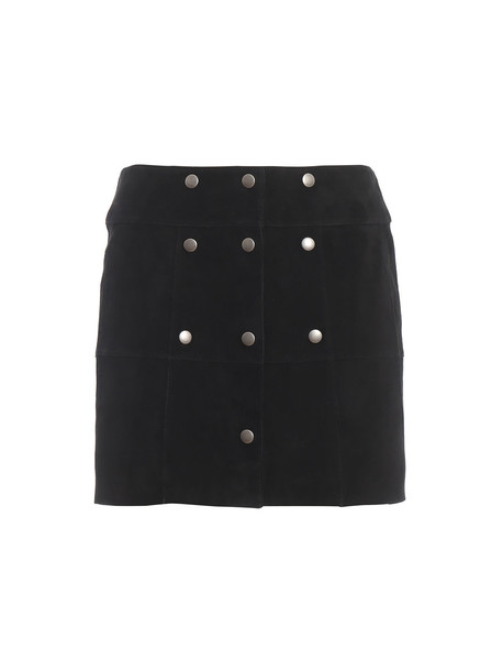 Saint Laurent Saint Laurent Skirt Trapeze in black