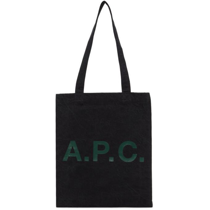A.P.C. A.P.C. Black Lou Tote