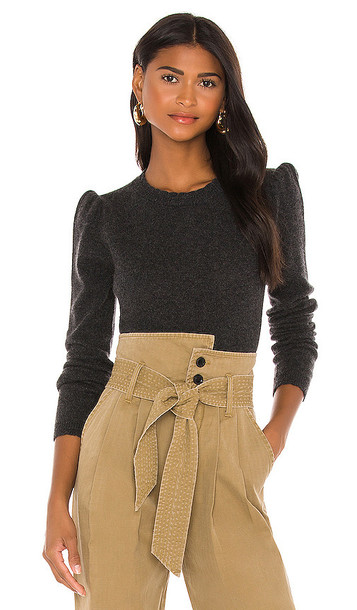 FRAME Madeline Sweater in Charcoal