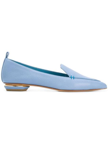 Nicholas Kirkwood 18mm Beya loafers in blue