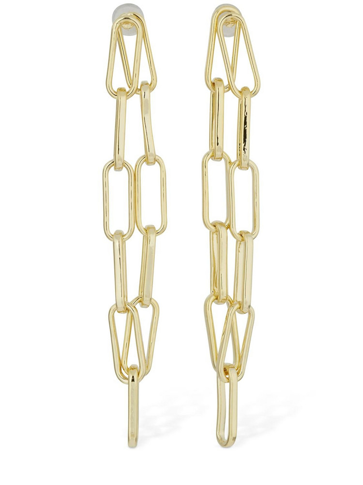 FEDERICA TOSI Karen Pendant Chain Earrings in gold