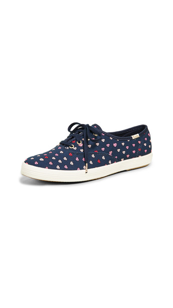 Keds x Kate Spade New York Champion Lips Sneakers in navy