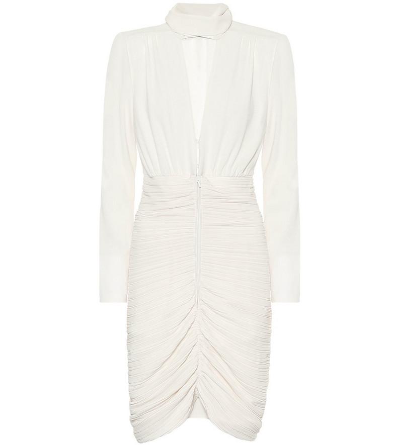 Dorothee Schumacher Glamorous minidress in white