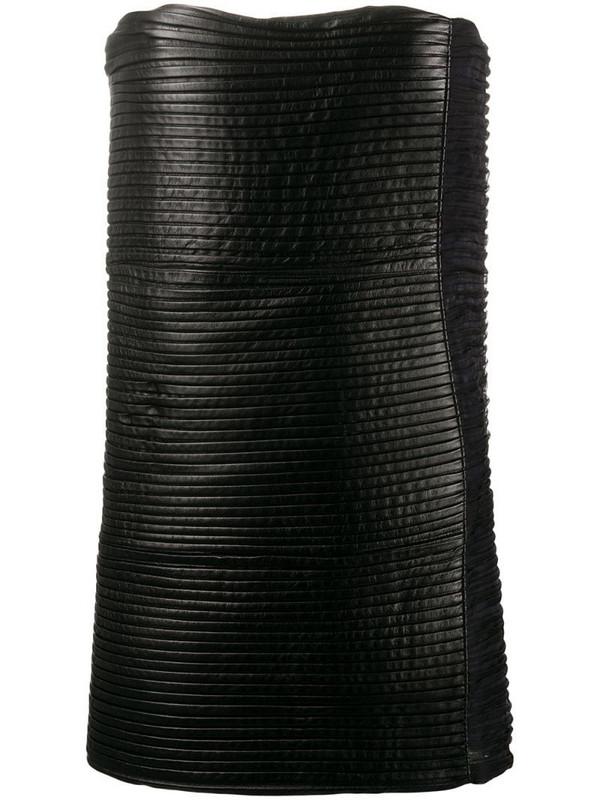 Gianfranco Ferré Pre-Owned 1990s strapless mini dress in black