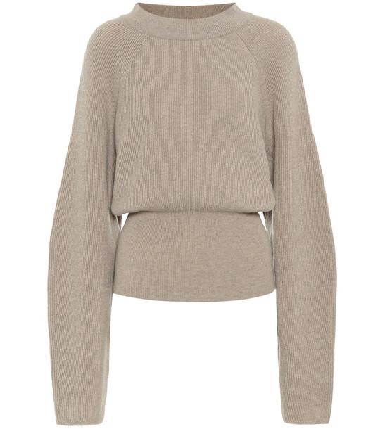 Nanushka Arden wool-blend sweater in beige