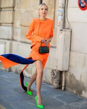 shoes,pumps,balenciaga,black bag,asymmetrical dress