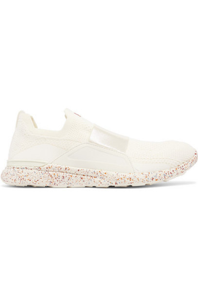 APL Athletic Propulsion Labs - Techloom Bliss Mesh And Neoprene Sneakers - Ivory